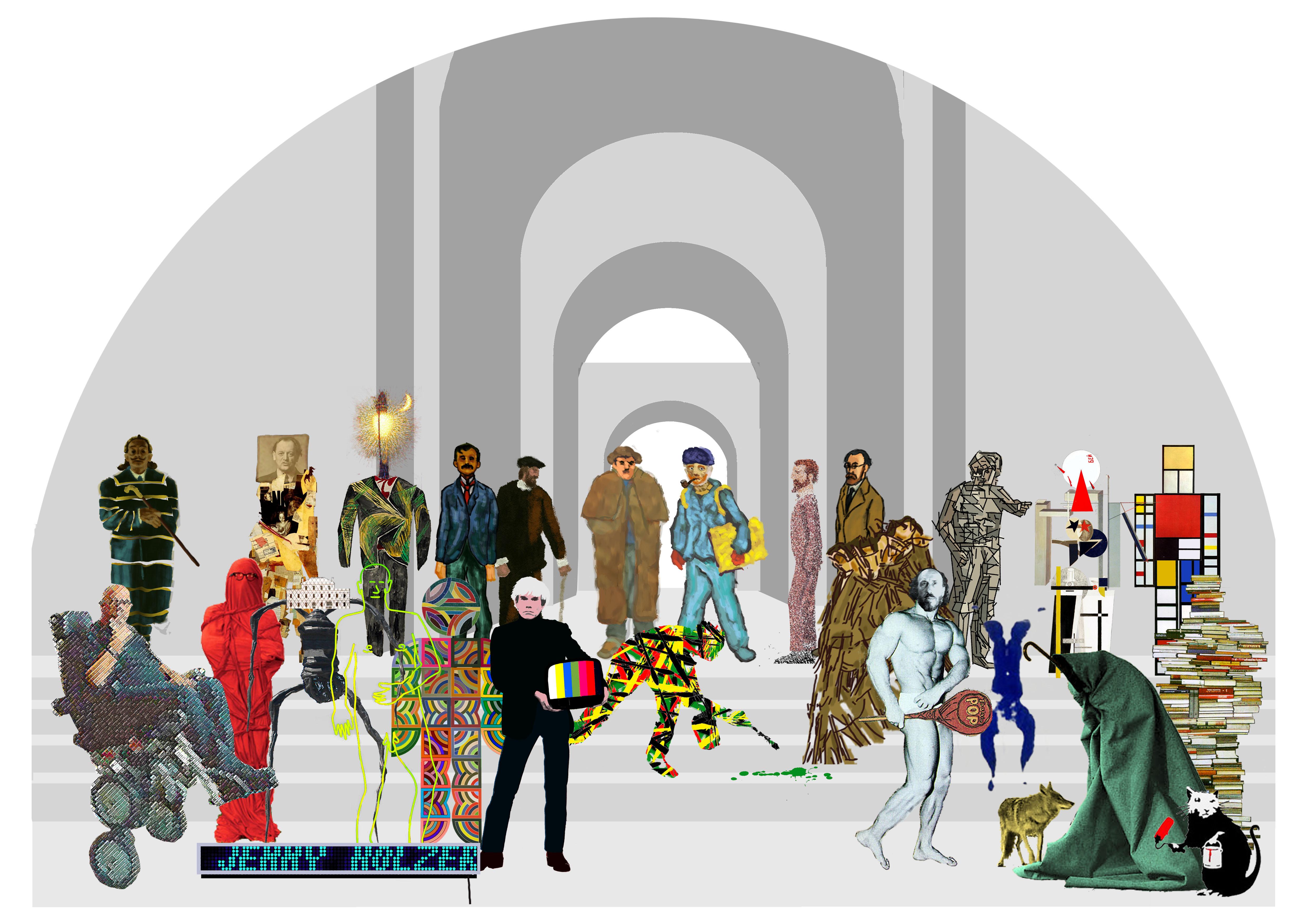 Ilustración digital y fotomontaje, 2010